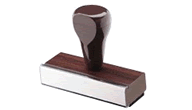 Wooden Handled Traditional Stamps
